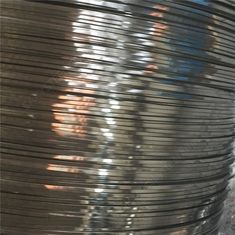 Soap Coated Stainless Steel Flat Wire Flat Metal Wire For Binding Carbon