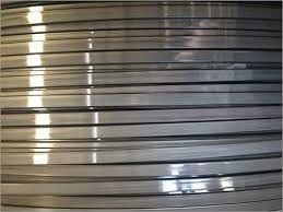 Welded Mesh 304 Stainless Steel Flat Spring Wire Industrial High Strength